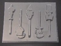 267/568sp Elf Christmas Holiday Movie Chocolate Candy Lollipop Mold