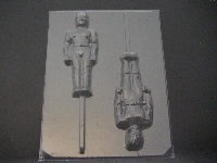 111sp Full Body Strong Rangers Chocolate or Hard Candy Lollipop Mold