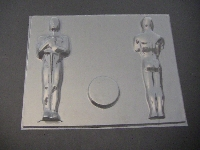 113sp Award 3D Chocolate Candy Mold