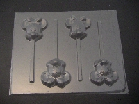 330sp Famous Female Mouse Chocolate or Hard Candy Lollipop Mold