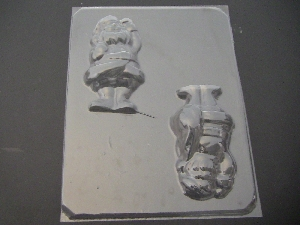 231 3D Santa Claus Chocolate Candy Mold