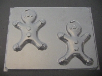 245 Gingerbread Man Chocolate Candy Mold