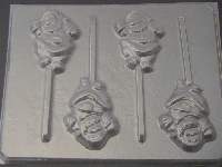 226 Santa Dancing Chocolate Candy Lollipop Mold