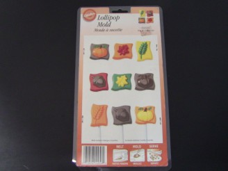 2115-3056 Harvest Chocolate Candy Lollipop Mold