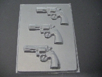 1106 Gun Chocolate Candy Mold