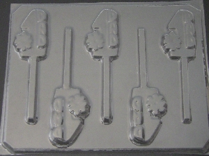1107 #1 Dad Chocolate or Hard Candy Lollipop Mold