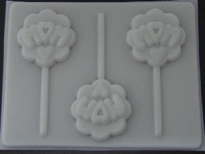 1608 Mom Chocolate or Hard Candy Lollipop Mold