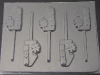1606 #1 Mom Chocolate or Hard Candy Lollipop Mold