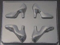 1601 High Heel Shoe 3D Chocolate Candy Mold