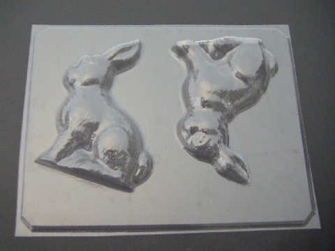 825 3D Bunny Rabbit Chocolate Candy Mold