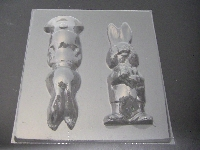 836 Papa Bunny Extra Large 10 Inch Tall Chocolate Mold