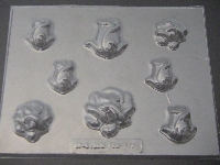 505 Rosebuds Chocolate Candy Mold