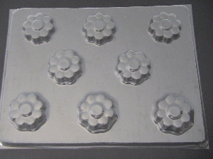 506 Daisy Fillable Chocolate Candy Mold