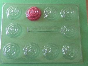 513 Roses Fillable Chocolate Candy Mold