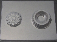 522 Sunflower Pour Box Chocolate Candy Mold