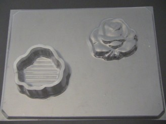 528 Rose Pour Box Chocolate Candy Mold