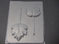 530 Maple Leaf Large Chocolate or Hard Candy Mold