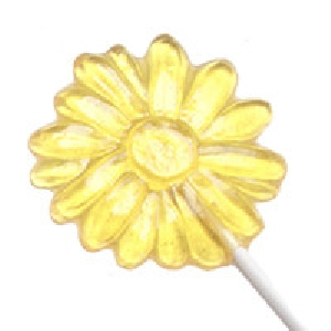 515 Daisy Chocolate or Hard Candy Lollipop Mold