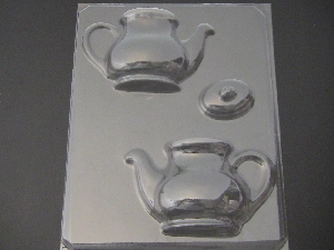 1504 Tea Pot 3D Chocolate Candy Mold