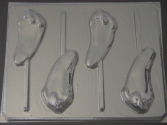 1513 Chili Pepper Chocolate or Hard Candy Lollipop Mold