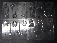 Ocean Princess Set of 5 Chocolate Candy Molds