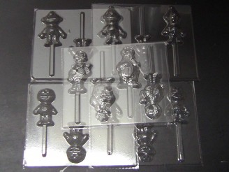 Sesame Friends Set of 5 Chocolate Candy Molds
