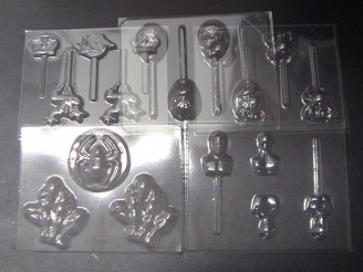 Spider Dude Set of 5 Chocolate Candy Molds
