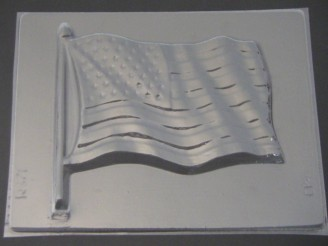 700 American Flag Chocolate Candy Mold