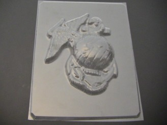 705 Marine Corps Large Chocolate or Hard Candy Mold