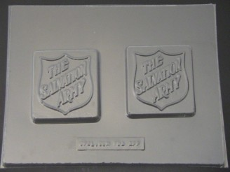 712 Salvation Army Chocolate Candy Mold