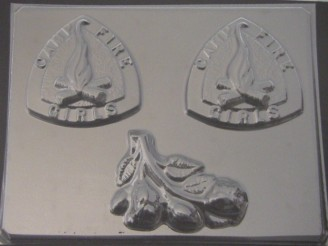 717 Campfire Girls Chocolate Candy Mold