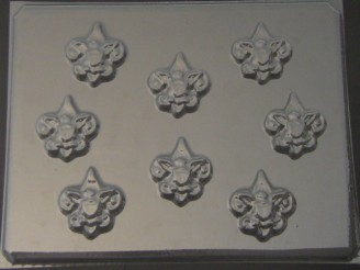 720 Boy Scout Chocolate Candy Mold
