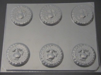 716 Marine Corps Emblem Chocolate Candy Mold
