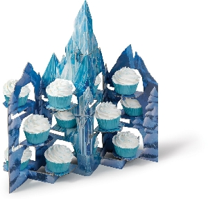 Frozen Castle Cupcake Treat Stand Wilton