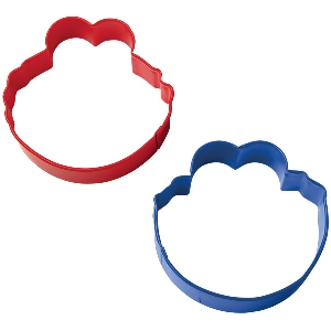 Elmo and Cookie Cutter Face Cookie Cutter Set Wilton