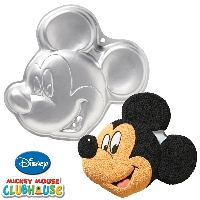 Mickey or Minnie Mouse Clubhouse Cake Pan Wilton
