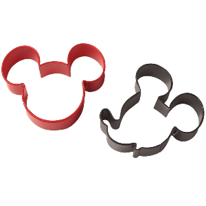 Mickey Mouse Face Cookie Cutter Set Wilton