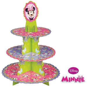 Minnie Mouse Cupcake Treat Stand Wilton