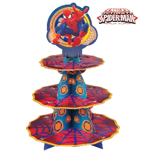 Spider-Man Cupcake Treat Stand Wilton