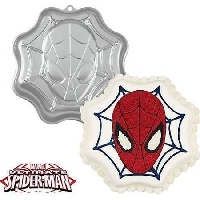 Spiderman Superhero Cake Pan Wilton