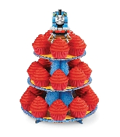 Thomas the Train Cupcake Treat Stand Wilton