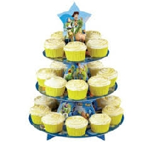 Toy Story Buzz Lightyear Woody Cupcake Treat Stand Wilton