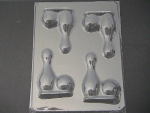 1417 Bowling Pin and Ball Chocolate Candy Mold