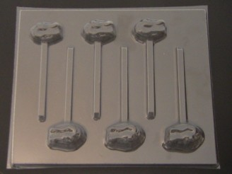 1427 Logo Florida Gators Chocolate or Hard Candy Lollipop Mold