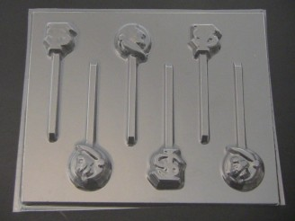 1428 Logo Florida State Seminoles Noles Chocolate or Hard Candy Lollipop Mold