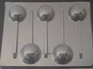 1405 Basketball Chocolate or Hard Candy Lollipop Mold
