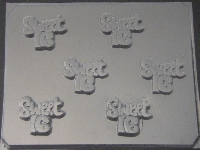 8513 Sweet 16 Chocolate Candy Mold