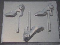 8517 High Heel Shoe Sweet 16 Chocolate or Hard Candy Lollipop Mold