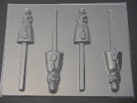 8519 Sweet 16 Girl Chocolate or Hard Candy Lollipop Mold