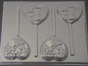 8500 Princess Stairway Sweet 15 Chocolate Candy Lollipop Mold